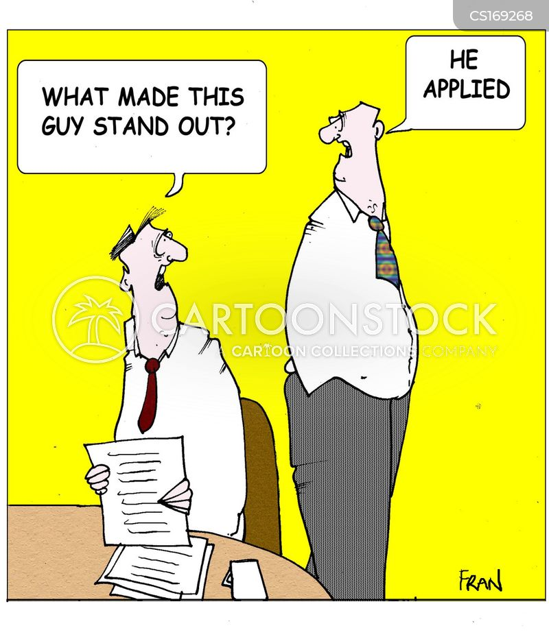 Job Application Cartoons And Comics Funny Pictures From