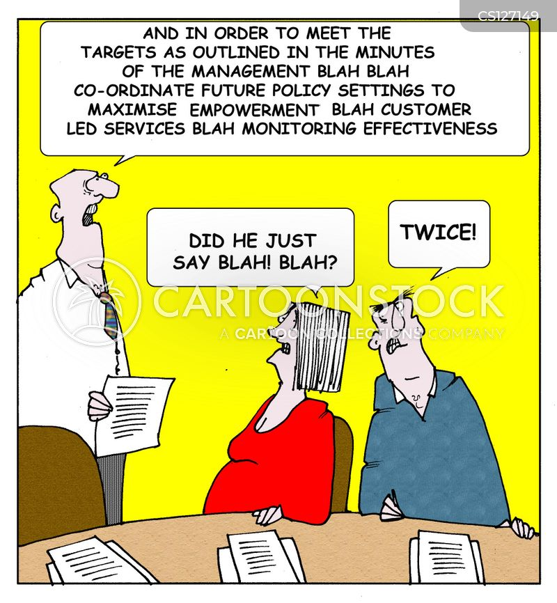 Staff Meetings Cartoons and Comics - funny pictures from ...