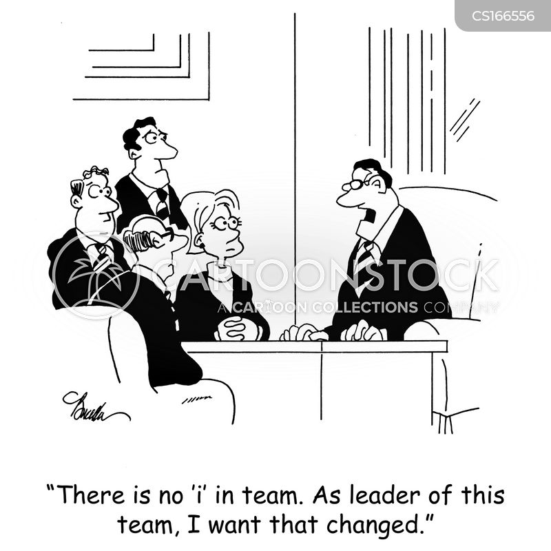 team member cartoons and comics funny pictures from