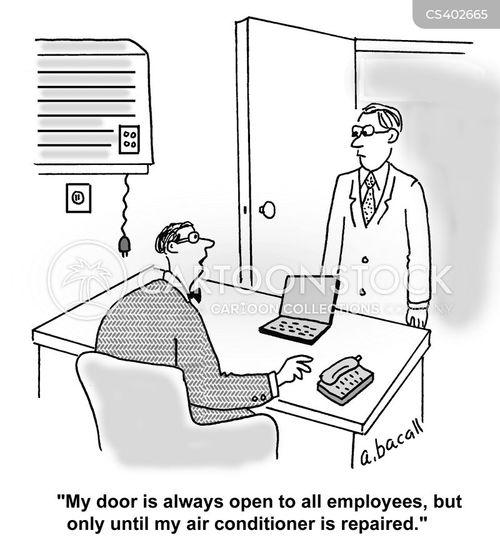 Open-door Policies Car...