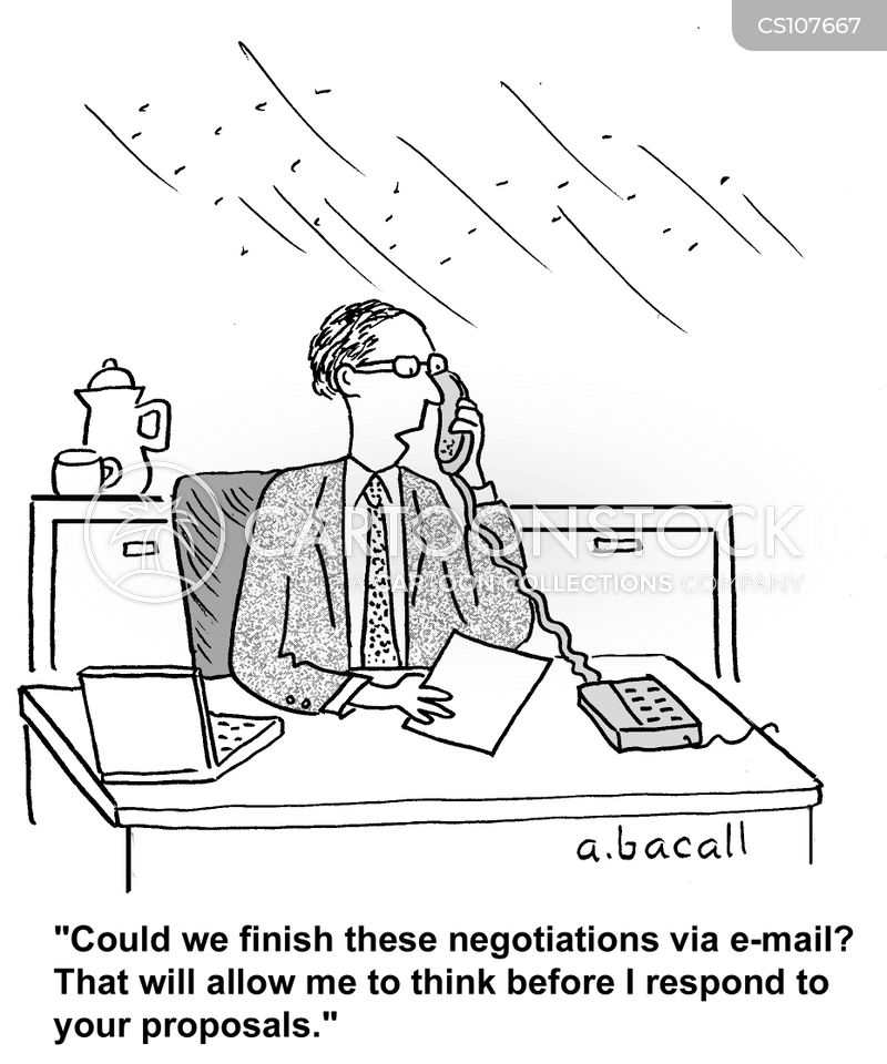 Email Cartoon, Email Cart