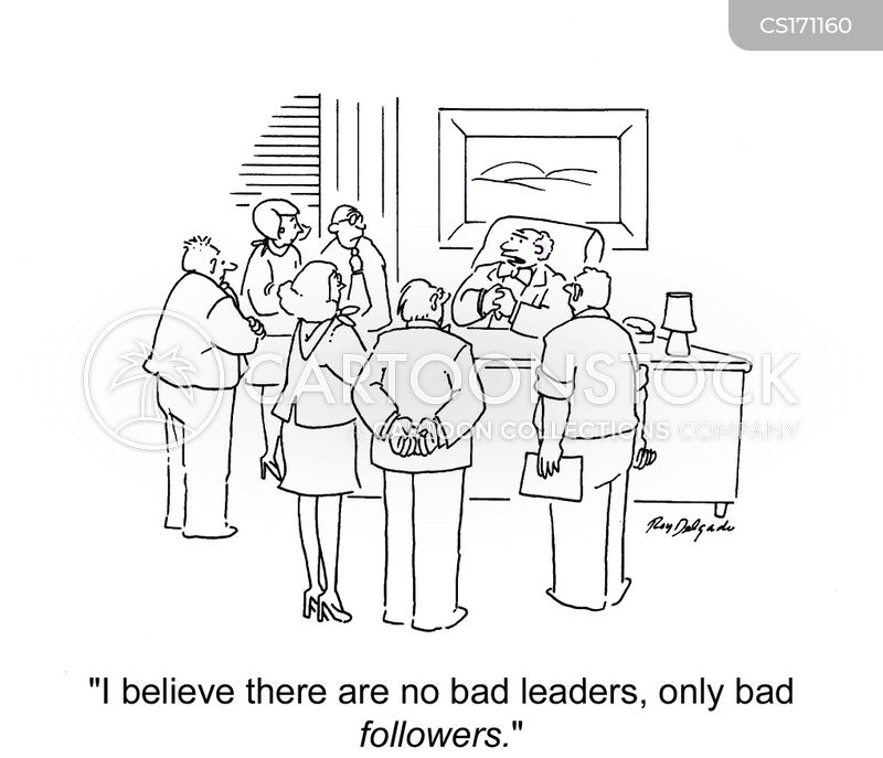 Bad Leader Cartoon 2 of 3