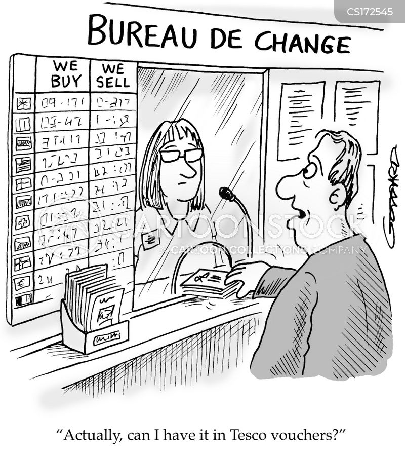 Bureau de change cartoons and comics funny pictures from for Bureau change