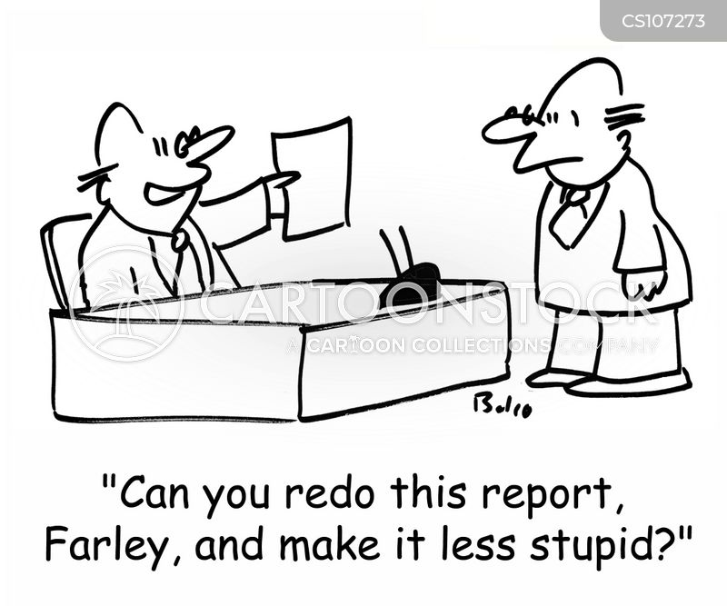 written reports in business