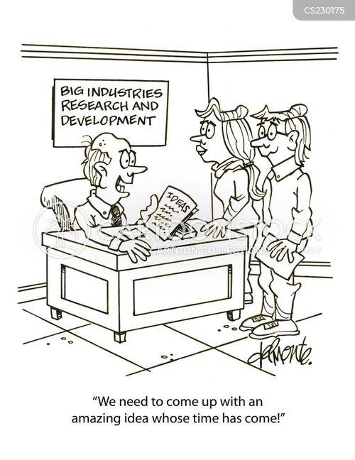 Product innovation cartoons product innovation cartoon funny