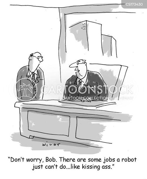 Head up the boss ass cartoon