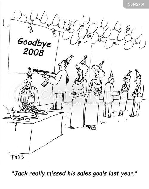 sales goals cartoons and comics