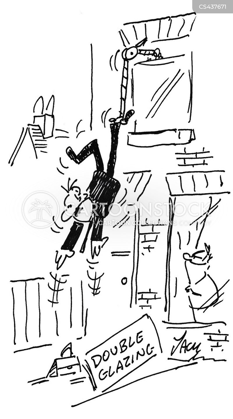 Nuisance callers cartoons and comics funny pictures from for Double glazing salesman
