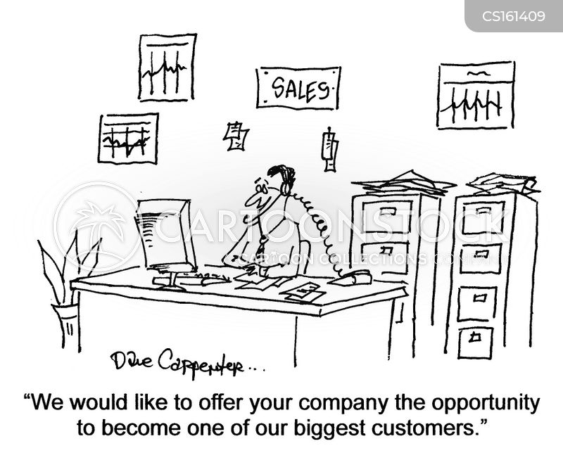Salespeople Cartoons And Comics Funny Pictures From