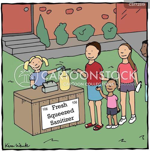 Hand Washing Cartoons and Comics - funny pictures from ... |Funny Hand Washing Cartoons