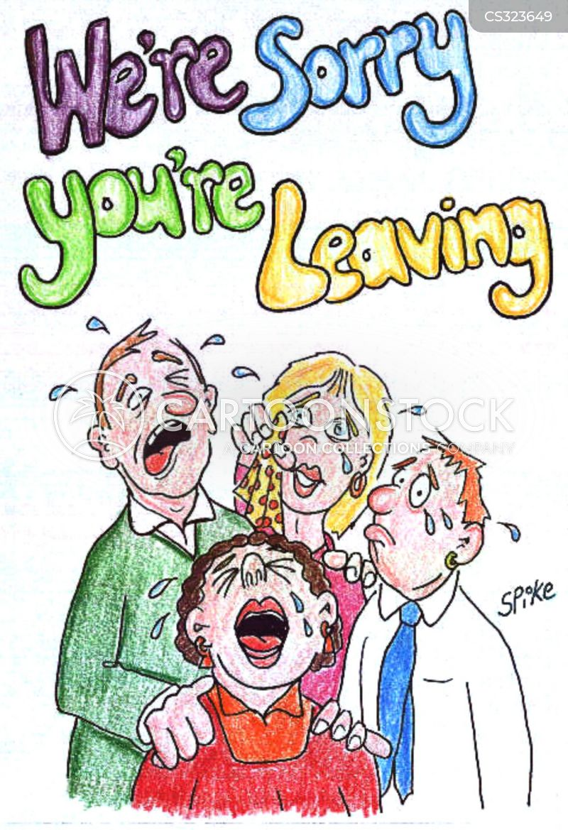 Funny Quotes For Someone Leaving A Job : Sorry you re leaving cartoons and comics funny pictures
