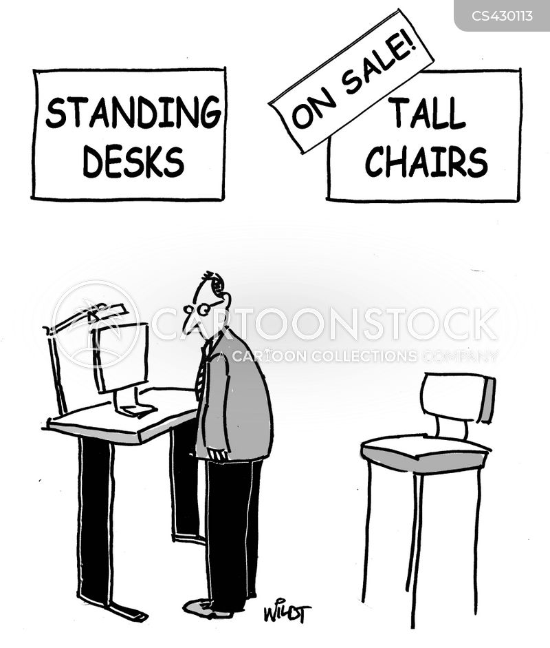 Standing Desk Cartoons And Comics Funny Pictures From