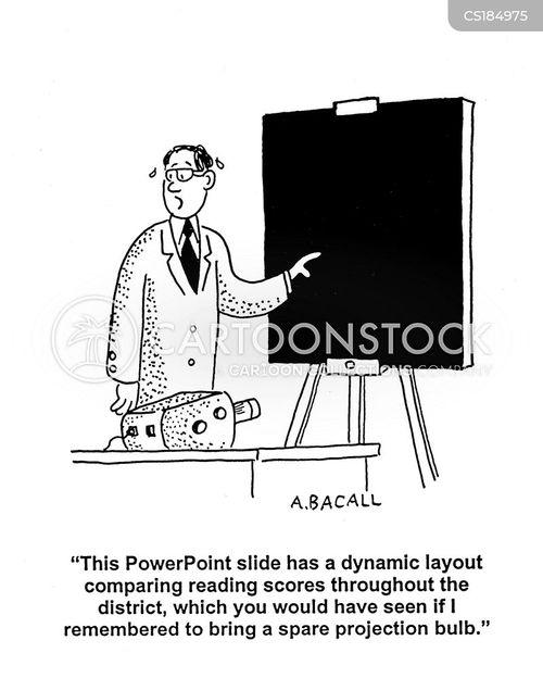 cartoon power point