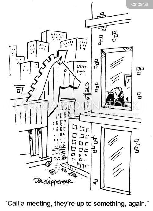 odyssey political cartoons
