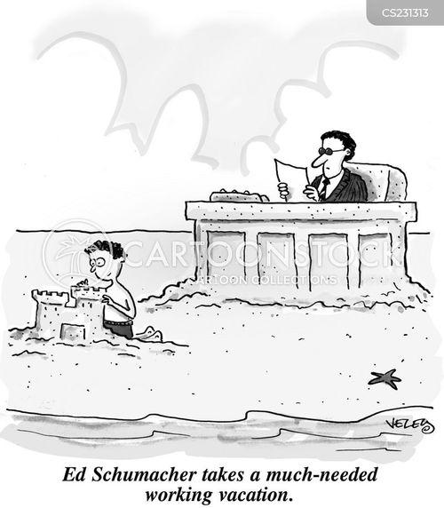 Working Vacations Cartoons And Comics