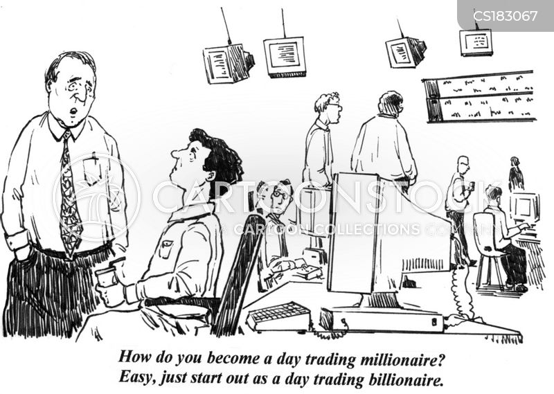 Day Trader Cartoon, Day Trader Cartoons, Day Trader Bild, Day Trader Bilder, Day Trader Karikatur, Day Trader Karikaturen, Day Trader Illustration, Day Trader Illustrationen, Day Trader Witzzeichnung, Day Trader Witzzeichnungen