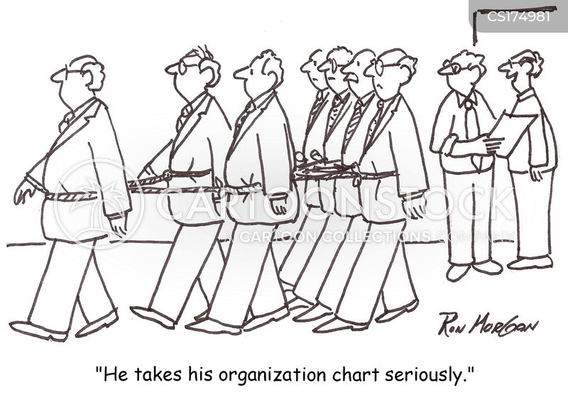Organization Chart Cartoons And Comics Funny Pictures