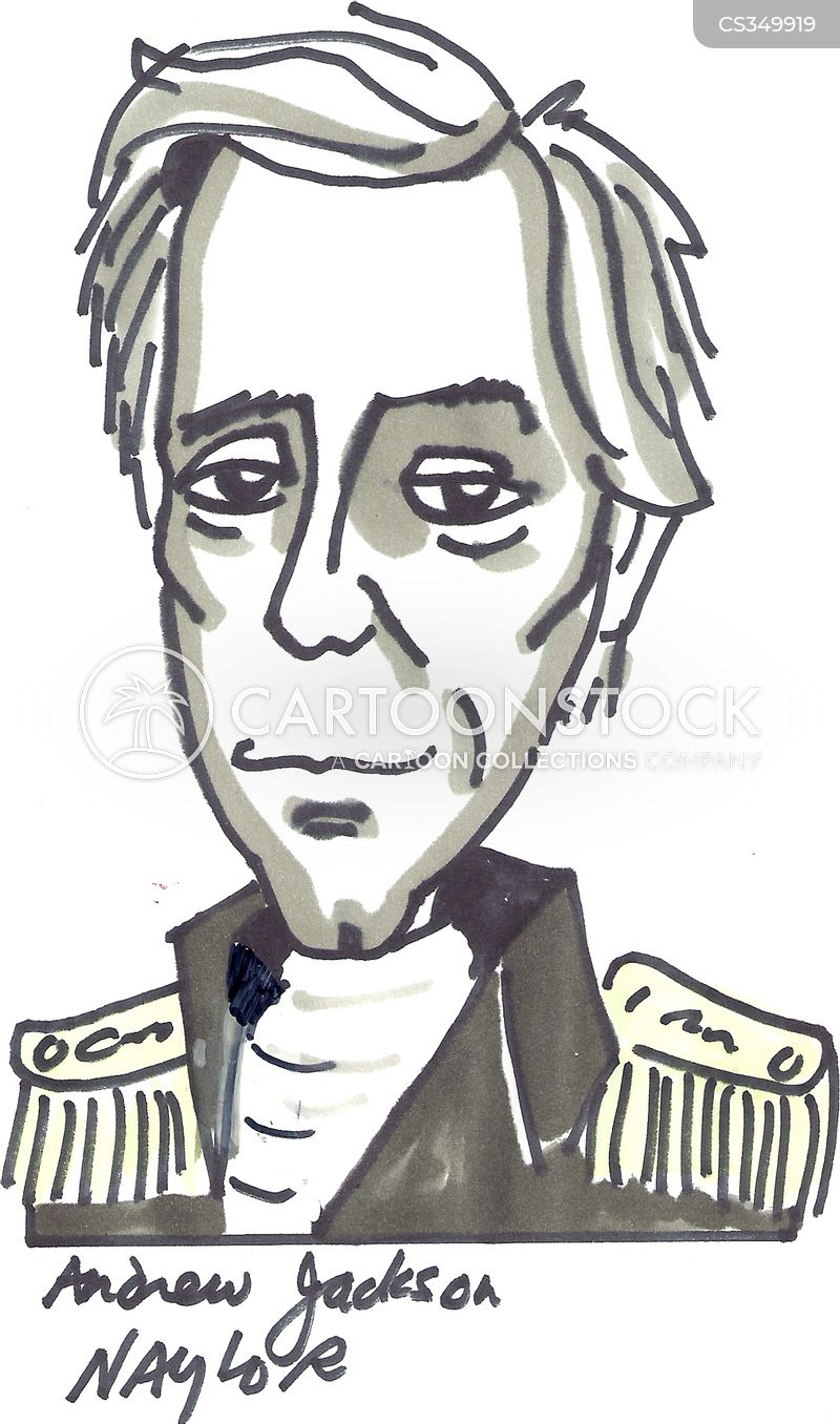 andrew jackson cartoons and comics funny pictures from