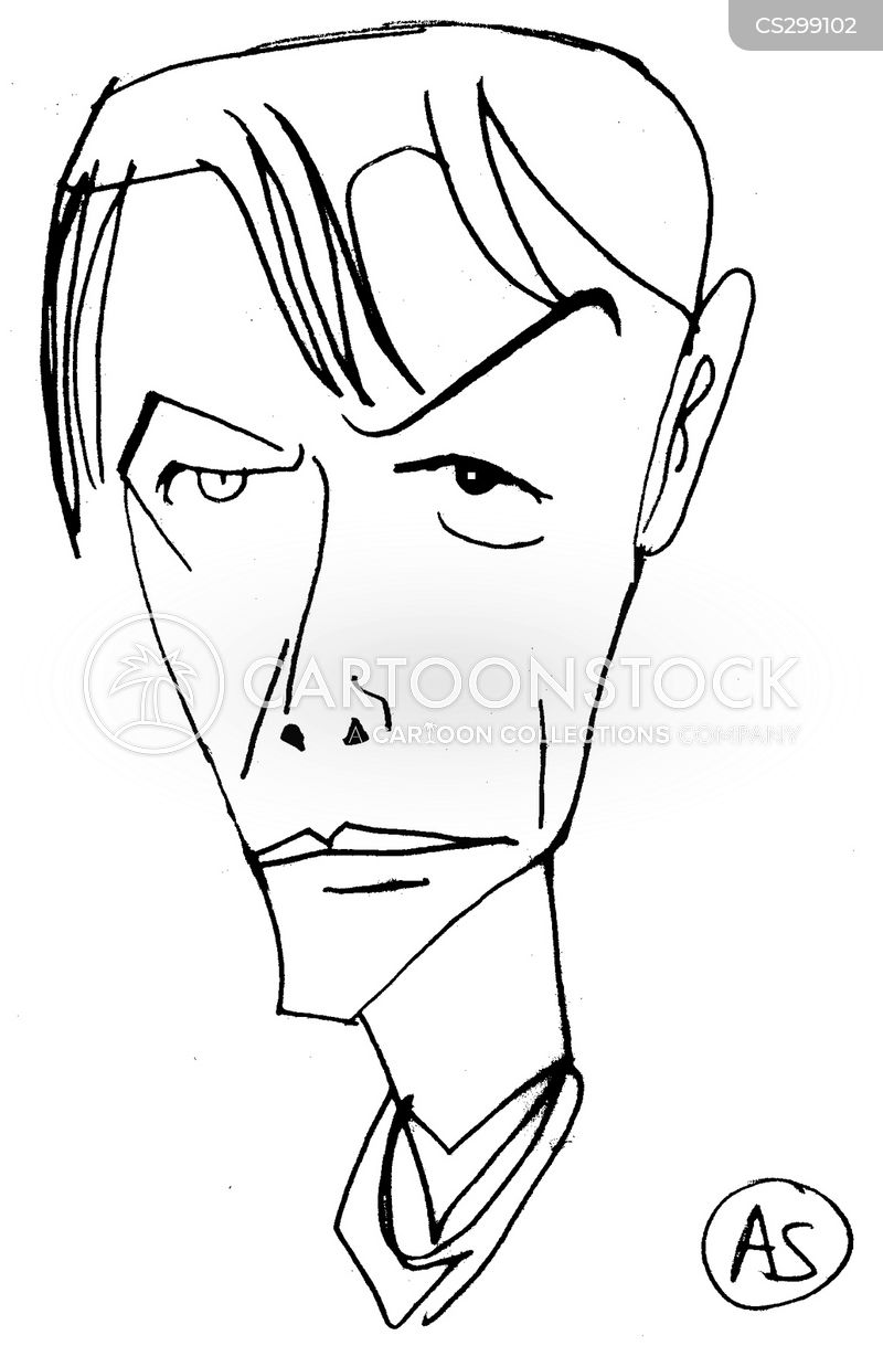 David Bowie Cartoon, David Bowie Cartoons, David Bowie Bild, David Bowie Bilder, David Bowie Karikatur, David Bowie Karikaturen, David Bowie Illustration, David Bowie Illustrationen, David Bowie Witzzeichnung, David Bowie Witzzeichnungen