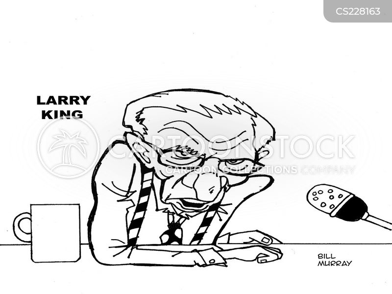 Larry King Cartoon, Larry King Cartoons, Larry King Bild, Larry King Bilder, Larry King Karikatur, Larry King Karikaturen, Larry King Illustration, Larry King Illustrationen, Larry King Witzzeichnung, Larry King Witzzeichnungen