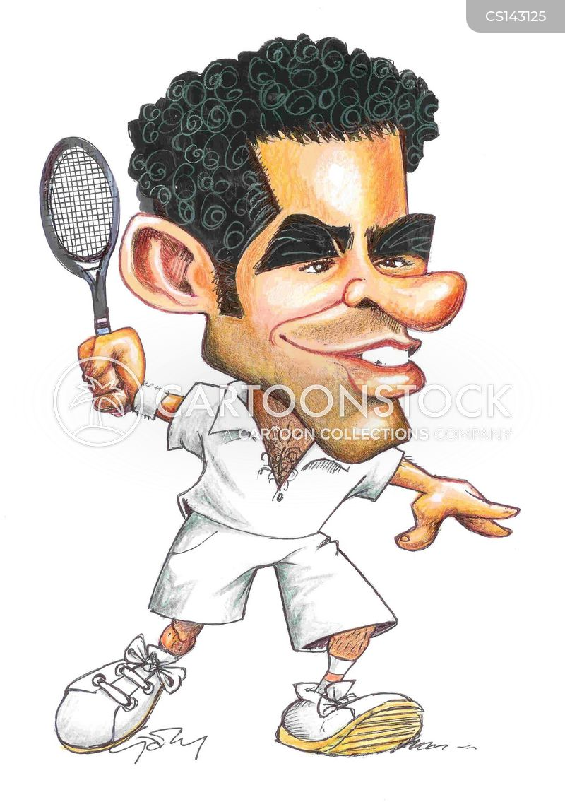 Tennisstar Cartoon, Tennisstar Cartoons, Tennisstar Bild, Tennisstar Bilder, Tennisstar Karikatur, Tennisstar Karikaturen, Tennisstar Illustration, Tennisstar Illustrationen, Tennisstar Witzzeichnung, Tennisstar Witzzeichnungen
