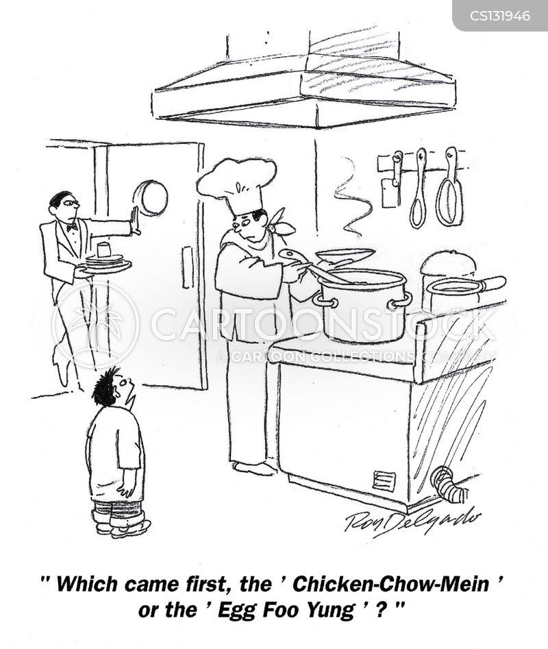 chow mein cartoons and comics