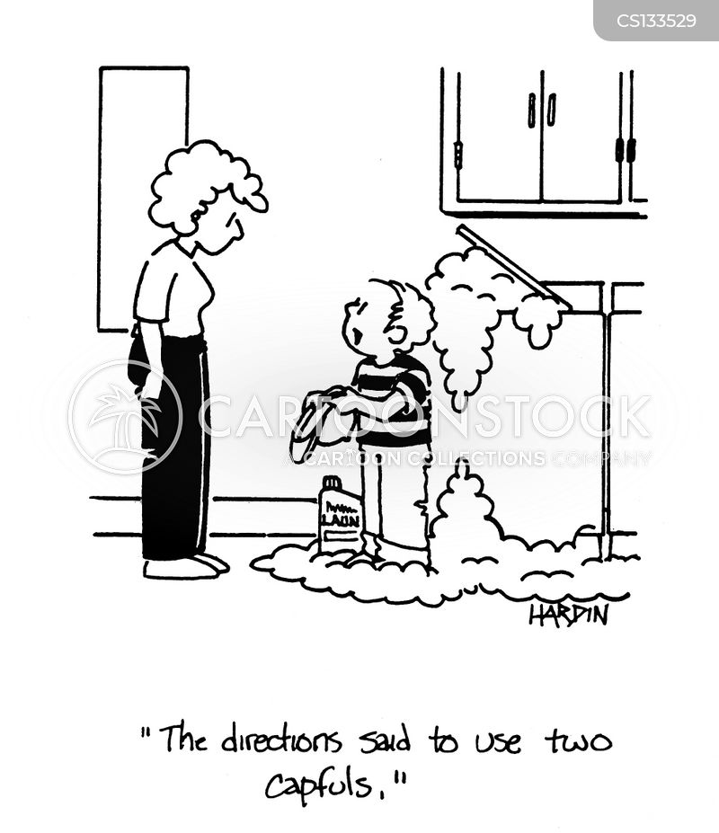 Laundry Detergent Cartoons And Comics Funny Pictures