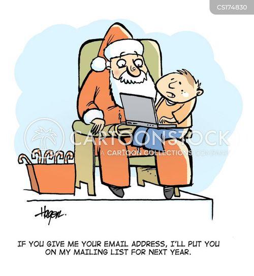 Santa clause cartoons santa clause cartoon funny santa clause
