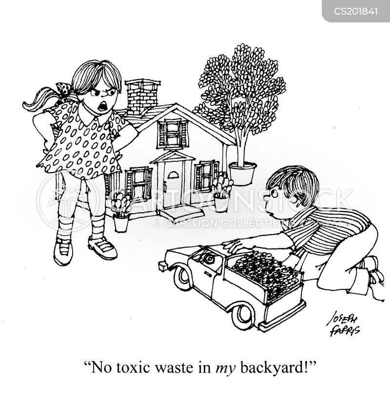 Not In My Backyard Cartoons and Comics - funny pictures ...
