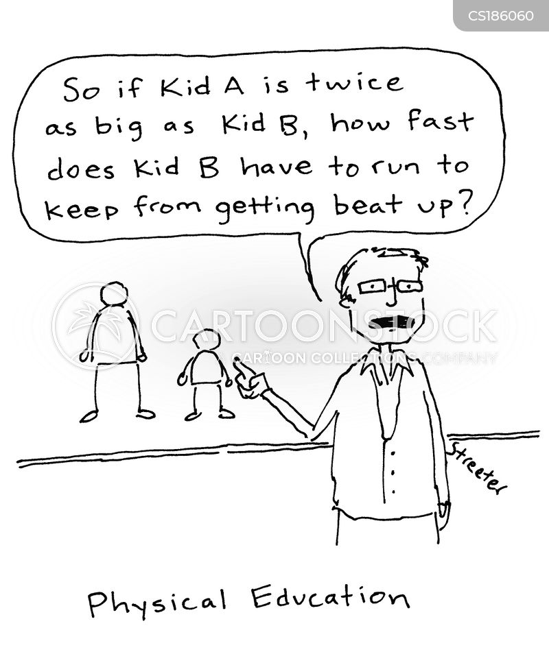 Physical Education Cartoons And Comics Funny Pictures