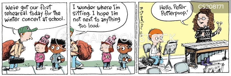 Woodwind Instruments Cartoons and Comics - funny pictures ...