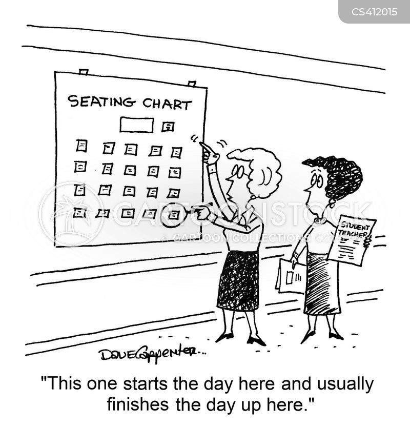 Seating Chart Cartoons And Comics Funny Pictures From