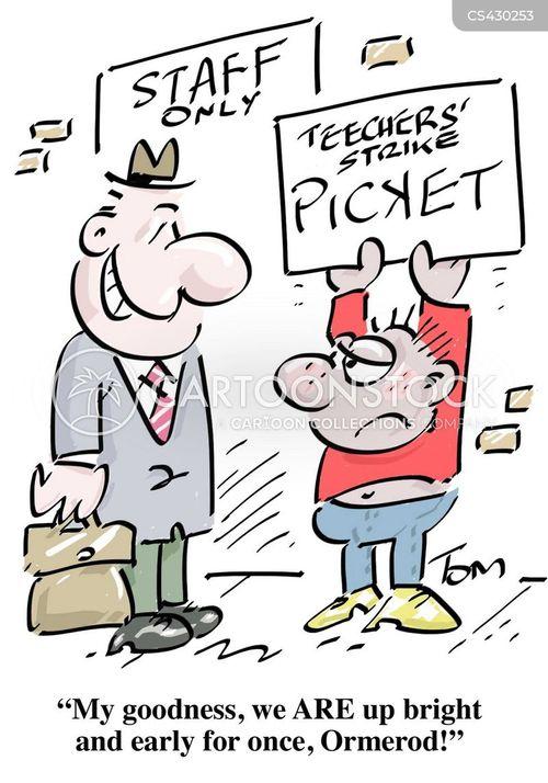 Strike cartoons, Teachers Strike cartoon, funny, Teachers Strike ...