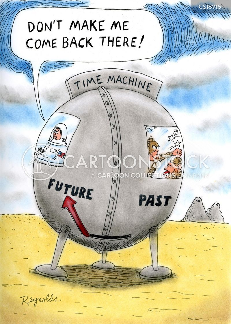 Time Machine Cartoons And Comics Funny Pictures From