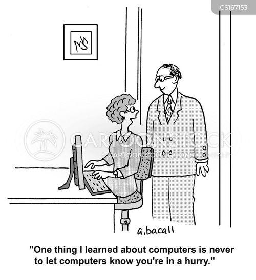 Computer Problem Cartoons And Comics