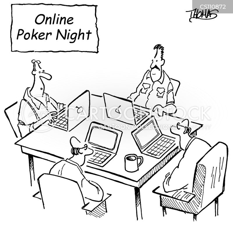 Poker animation funny