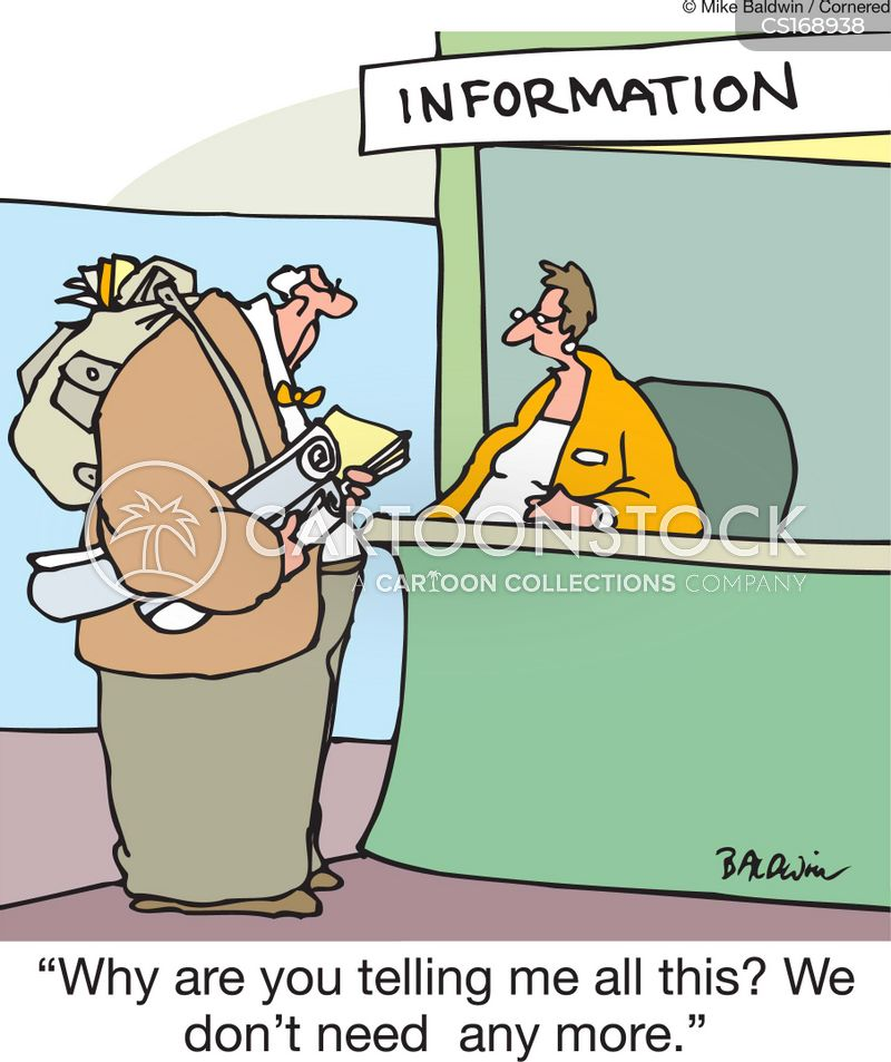 Information Overload Cartoons and Comics - funny pictures ...