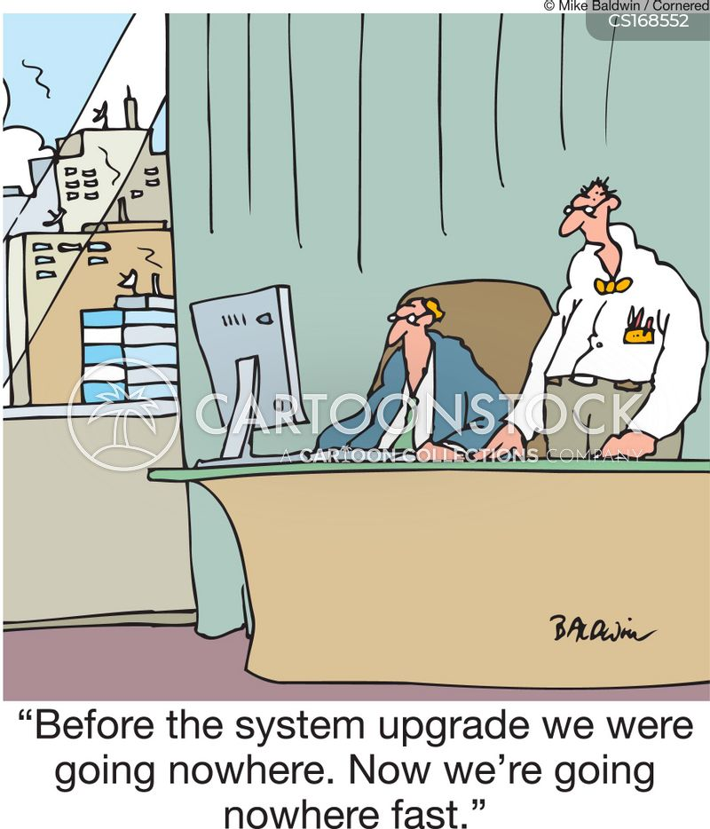 Upgrade Cartoon, Upgrade Cartoons, Upgrade Bild, Upgrade Bilder, Upgrade Karikatur, Upgrade Karikaturen, Upgrade Illustration, Upgrade Illustrationen, Upgrade Witzzeichnung, Upgrade Witzzeichnungen