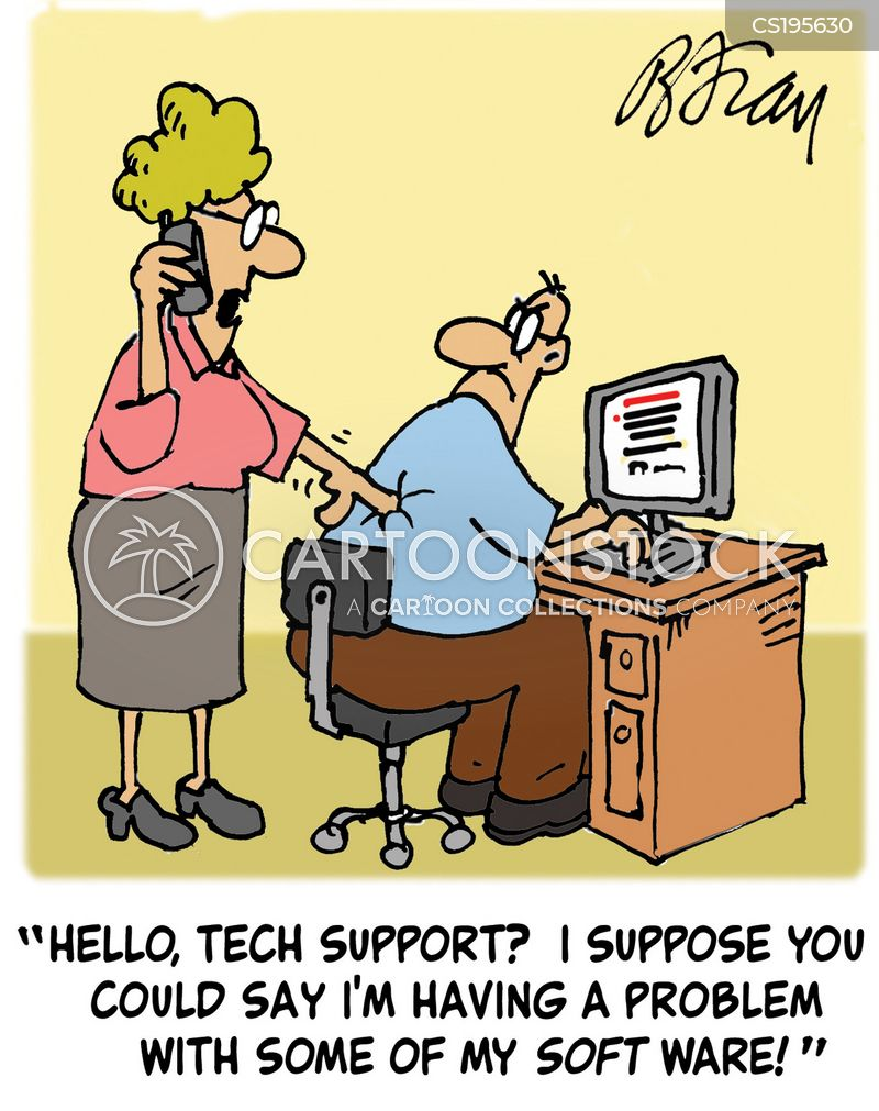 Computer Services Cartoons And Comics Funny Pictures