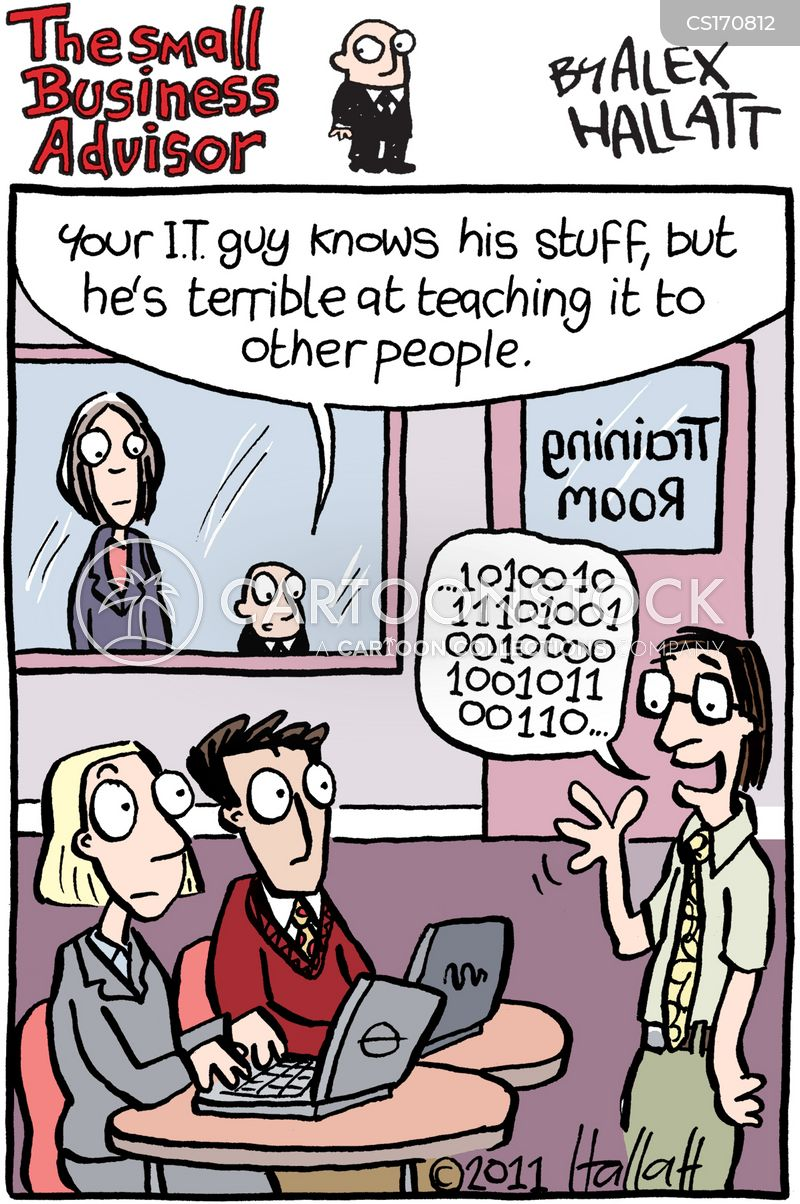 It Guys Cartoons And Comics Funny Pictures From Cartoonstock