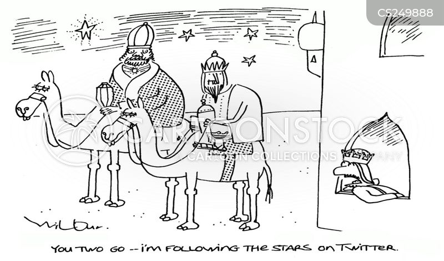 Follow The Star cartoons, Follow The Star cartoon, funny, Follow The ...