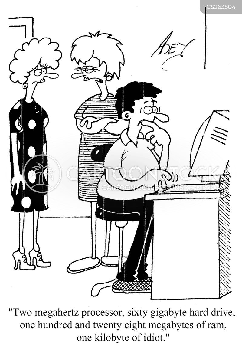 Computer Memory Cartoons And Comics Funny Pictures From