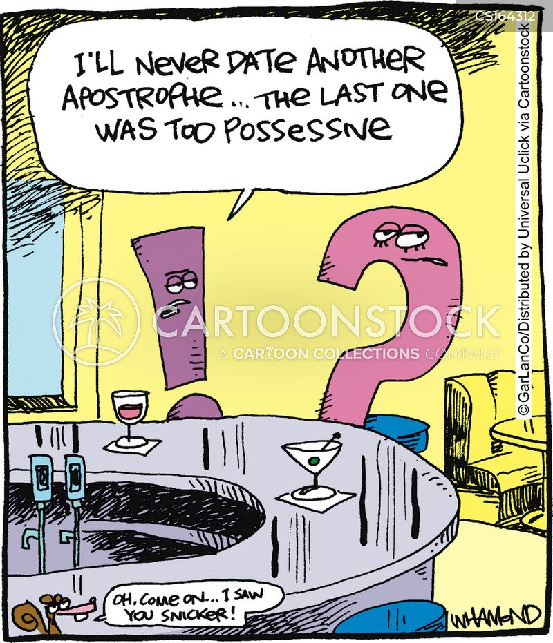 Grammar Cartoons And Comics Funny Pictures From Cartoonstock