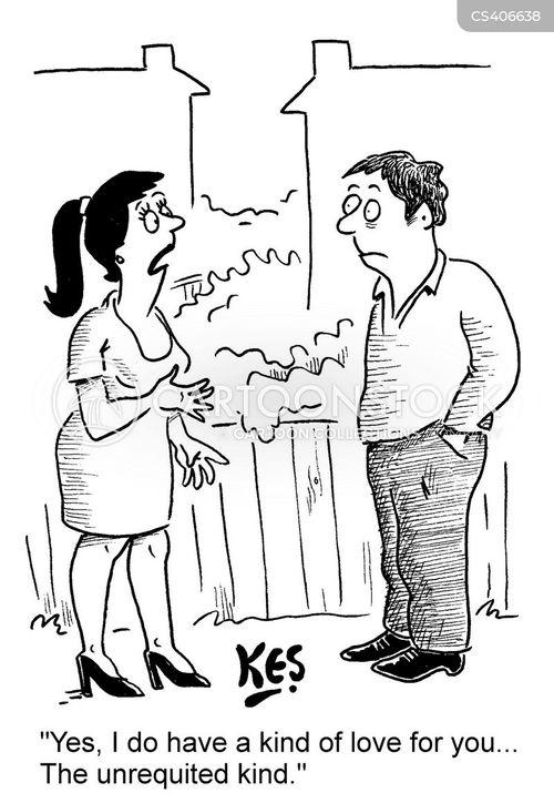 Funny love cartoon