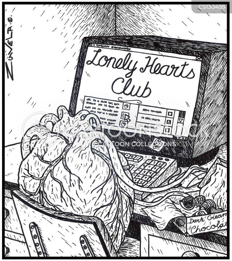 lonely hearts dating club Welcome one and all to the lonely hearts club, home or the perpetually single i am your host josh the fox mills so come, come the unloved and.