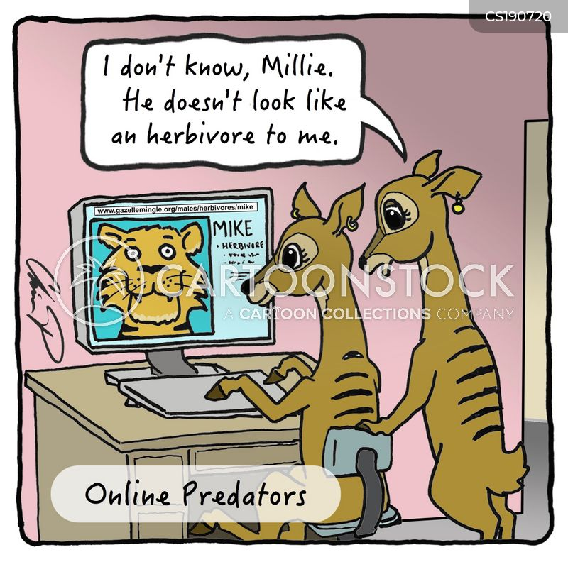 internet predators cartoons and comics funny pictures