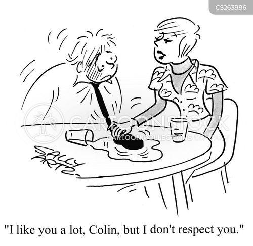 relationship abuse cartoon