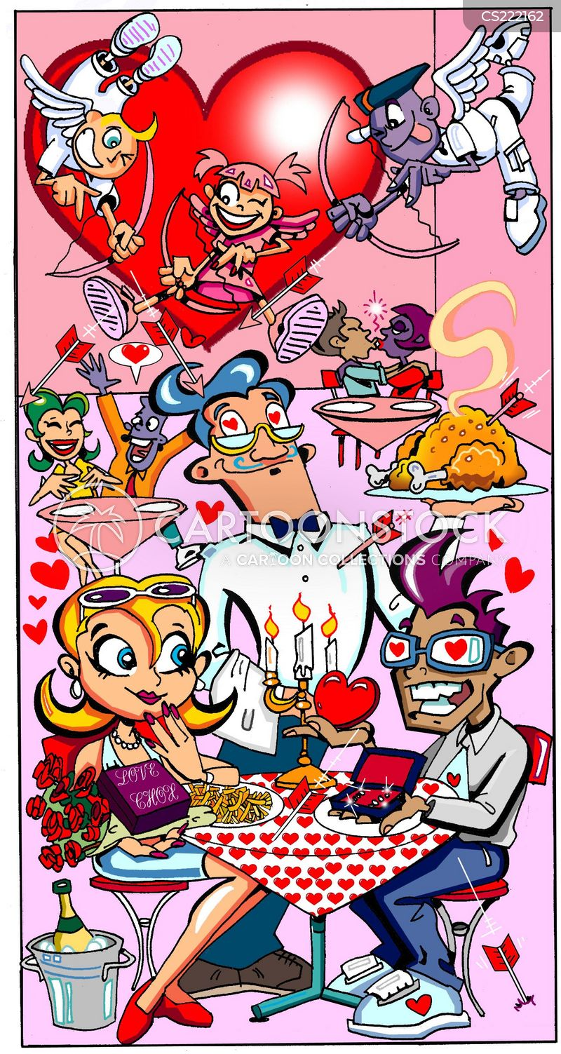 love and dating cartoons