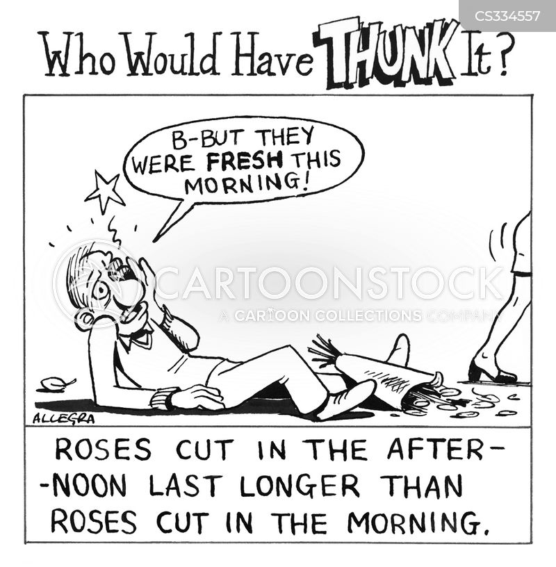 Wilting Flowers Cartoons and Comics - funny pictures from ...
