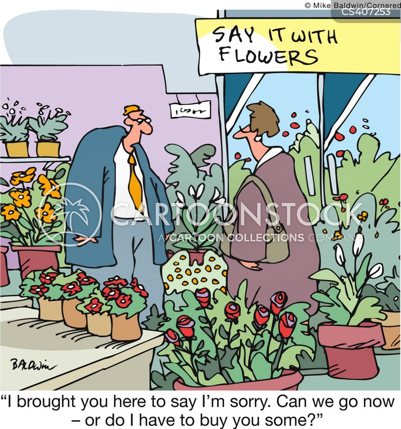 Flower Shop Cartoons and Comics - funny pictures from ...